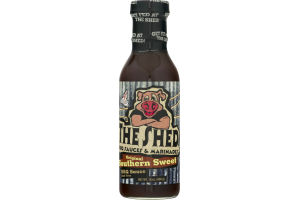 The Shed BBQ Sauce Southern Sweet Original