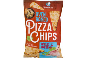 Napoli's Oven Baked Pizza Chips Garlic & Oregano