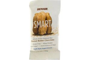 Detour SMART Whole Grain Oatmeal Bar Peanut Butter Chocolate