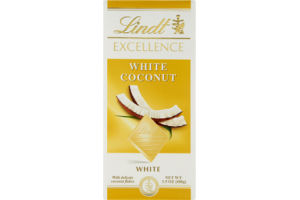 Lindt Excellence White Coconut White Chocolate