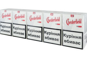 честерфилд ред сигареты купить в