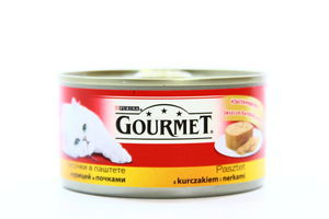 Консерва д/к.Gourmet Курка,Нирки 195г