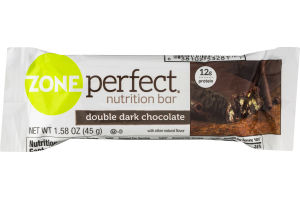 Zone Perfect Nutrition Bar Double Dark Chocolate