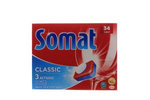 Таблетки для автоматичного миття посуду Somat Класік 34шт