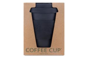 Чашка бамбуковая Ультра черная 350мл