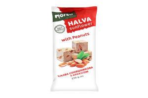 Халва Norsu подсолнечная с арахисом