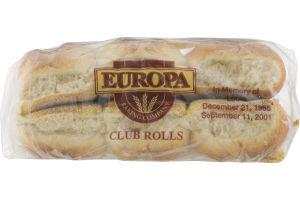 Europa Club Deli Rolls - 24 CT