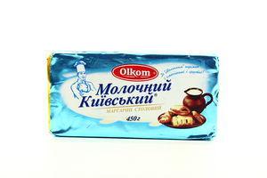 Маргарин 70% столовый Молочный Киевский Olkom м/у 450г