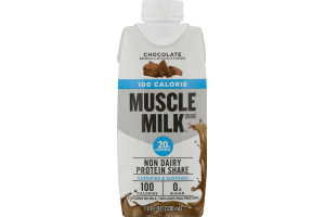 Muscle Milk Non Dairy Protein Shake 100 Calories Chocolate