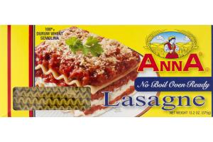 Anna No Boil Oven Ready Lasagne