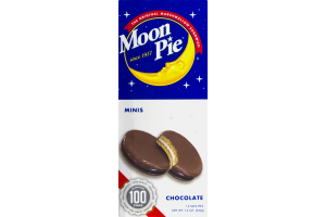 Moon Pie Minis Chocolate - 12 CT