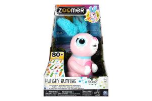 Игрушка для детей от 3 лет интерактивный Кролик Жувастик Zoomer Spin Master 1шт