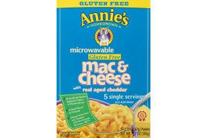 Annie's Homegrown Microwavable Gluten Free Mac & Cheese - 5 CT
