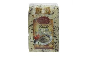 Смесь риса Дикий+Парболид World's Rice м/у 500г
