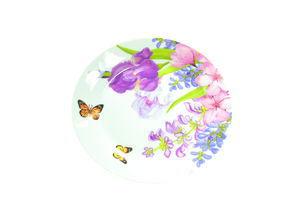 Тарелка мелкая Пурпурные цветы Оселя 19см