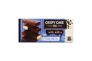 Торт вафельний з молоком Crispy Cake Biscuit Chocolate к/у 195г