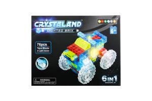 Конструктор Crystaland Машинка 6в1 99004