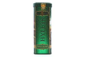 Чай черный крупнолистовой Английский королевский купаж Hyleys ж/б 125г