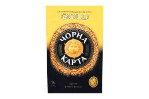 Кава натуральна розчинна сублімована Gold Чорна Карта м/у 95г