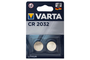 Батарейка CR2032 Lithium 3V №6032 Varta 2шт