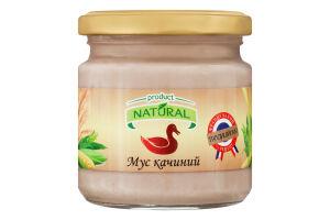 Мусс утиный Natural с/б 180г