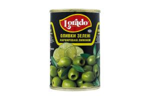 Оливки Лорадо Фаршировані лимоном 314мл ж/б