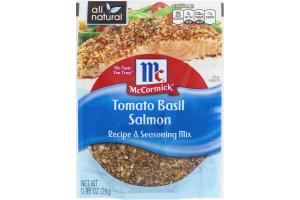 McCormick Recipe & Seasoning Mix - Tomato Basil Salmon