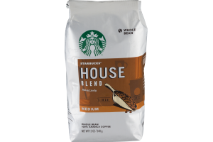 Starbucks House Blend Medium Whole Bean Coffee