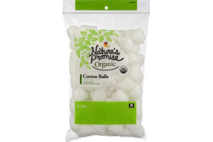 Nature's Promise Organic Cotton Balls - 100 CT
