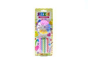 Свічки Sizzle Candles з підставкою 12шт