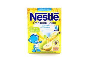 Каша молочная овсяная с грушей бананом Nestle 250г