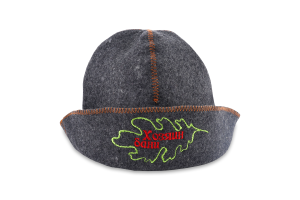 Шляпа для сауны серый войлок №А-088 Банщик Шелтер груп 1шт