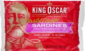 Сардины King Oscar Брислинг По-средиземноморски