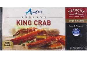 Aqua Star King Crab Star Cut Legs & Claws
