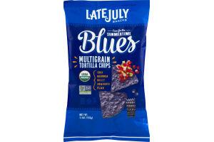 Late July Summertime Blues Multigrain Tortilla Chips