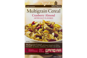 Signature Kitchens Multigrain Cereal Cranberry Almond