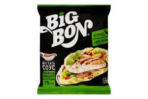 Локшина швидкого приготування Курка+соус Сальса BigBon м/у 75г