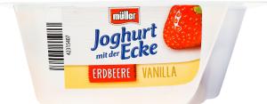 Йогурт 3.5% Полуниця-ваніль Müller ст 150г