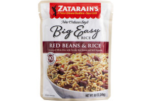 Zatarain's New Orleans Style Big Easy Red Beans & Rice