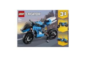 Конструктор для детей от 8лет №31114 Супермотоцикл Creator Lego 1шт
