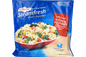 Birds Eye Steamfresh Chef's Favorites Rotini & Vegetables Lightly Sauced