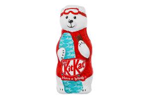 Шоколад молочний зі злаковими пластівцями Білий ведмідь Kit Kat м/у 85г