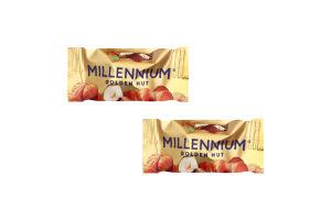 Конфеты шоколадные с начинкой и цельным лесным орехом Golden Nut Millennium кг