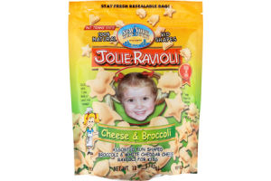Jolie Ravioli Cheese & Broccoli Ravioli for Kids