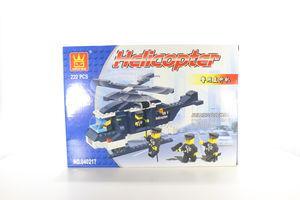 Іграшка Wange конструктор Поліцейський вертоліт 040217
