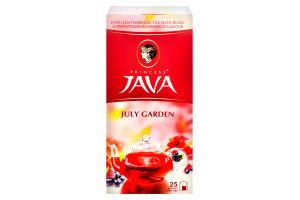 Чай травяной с ароматом черной смородины и малины Июльский сад Принцесса Ява к/у 25х1.5г