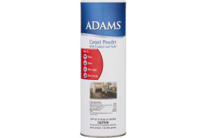 Adams Carpet Powder with Linalool and Nylar
