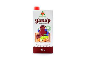 Напиток сокосодержащий Узвар Закарпатский Береговский т/п 1л