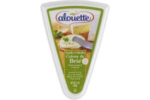 Alouette Creme de Brie Garlic & Herb