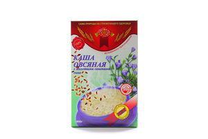 Каша овсяная с семенами льна Golden Kings of Ukraine к/у 400г